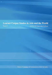 Learner Corpus Studies in Asia and the World
